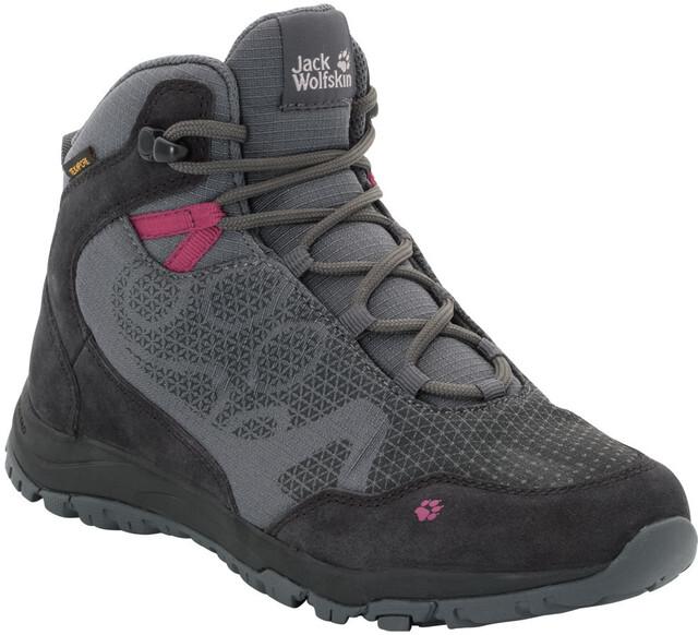 Jack Wolfskin Activate XT Texapore Mid Shoes Damen dark iron